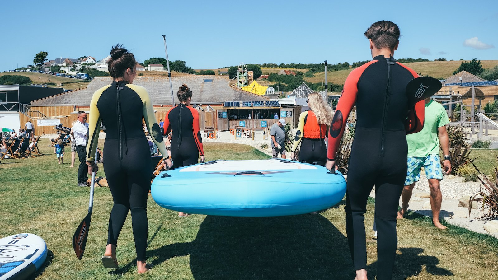 Group Paddleboard SUP Rental and Hire in Weymouth and Portland, Dorset