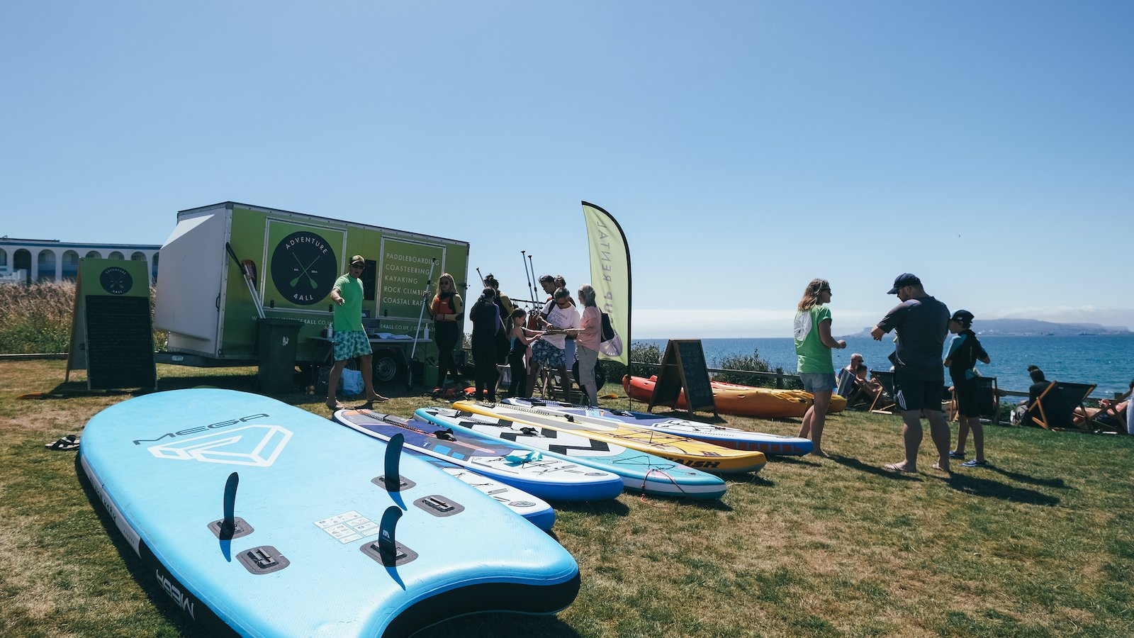 XXL Paddleboard SUP Rental and Hire in Weymouth and Portland, Dorset